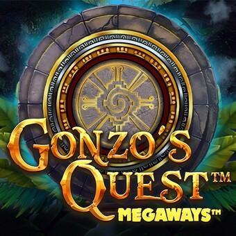 Gonzo's Quest Megaways ロゴタイプ